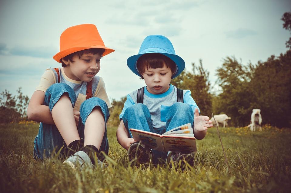 Leituras à sombra para pequenos leitores