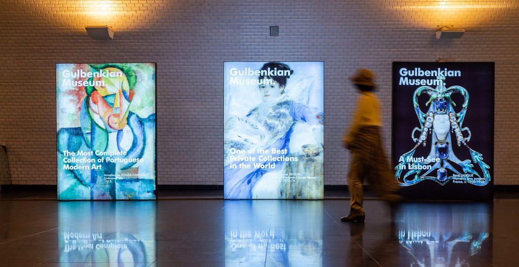 Metro Acolhe Exposição do Museu Calouste Gulbenkian
