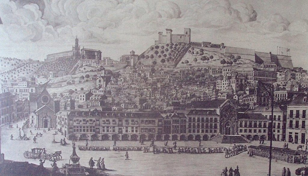Lisboa no tempo do Memorial do Convento