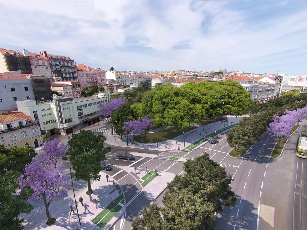 Largo de Santos e vias adjacentes