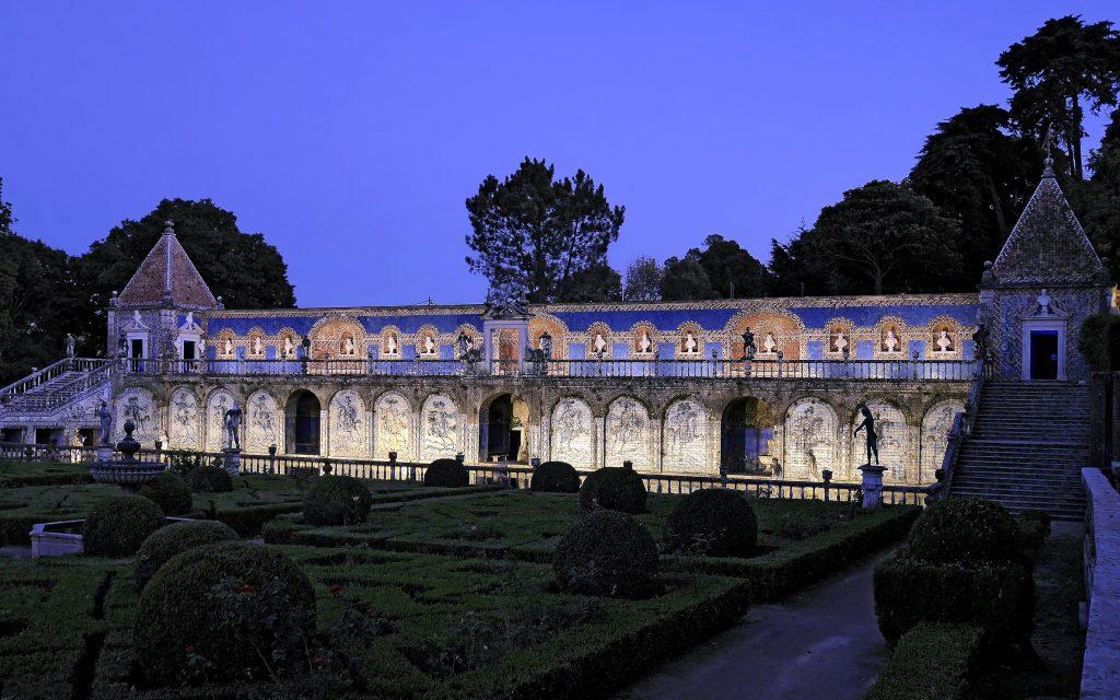 Um Jardim à Noite