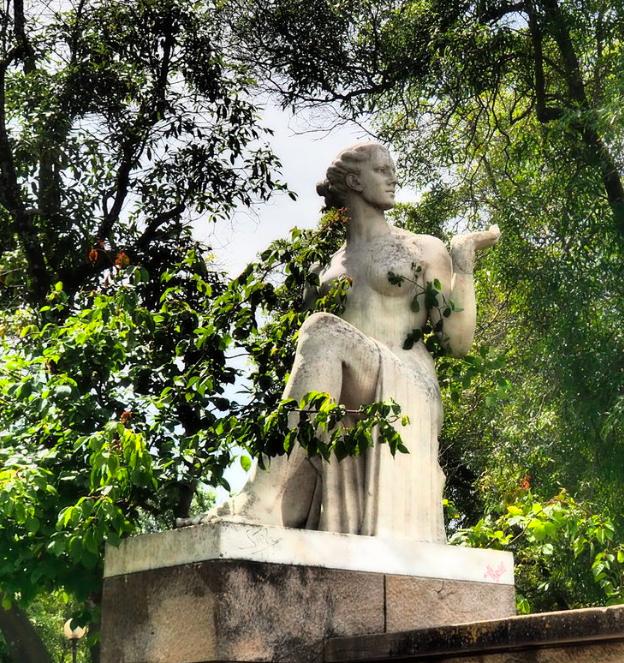 Mitologia Clássica no Parque Eduardo VII e Estufa Fria