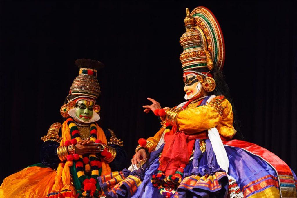 O épico Mahabharatha em dança Kathakali