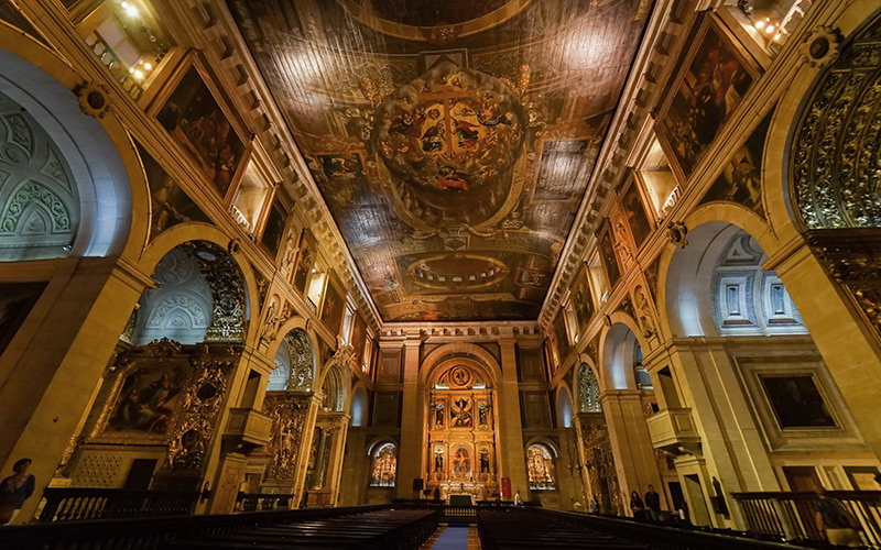 Visitas virtuais à Igreja e Museu de São Roque