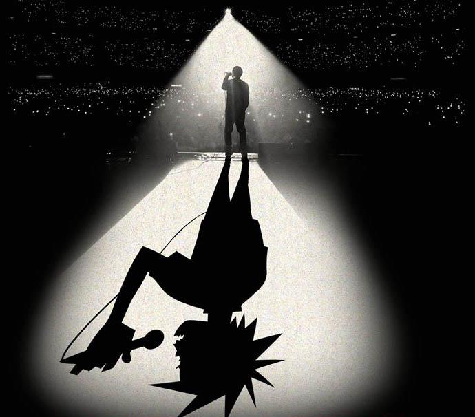"""""""Gorilazz: Reject False Icons"""" de Denholm Hewlett"""