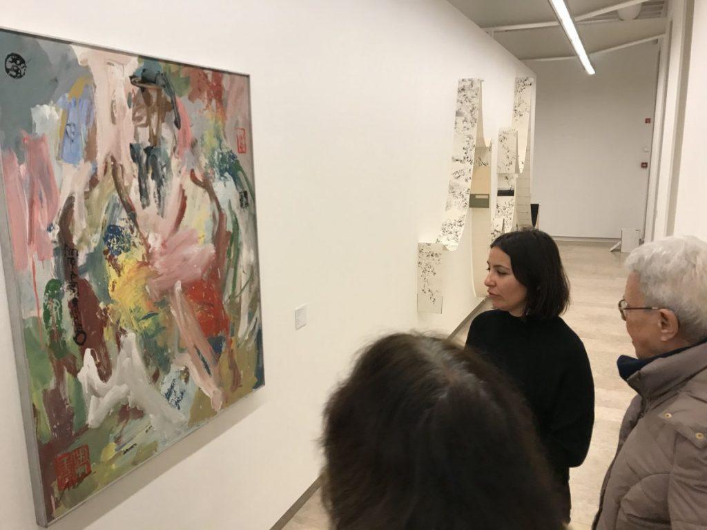 """Visita guiada à exposição """"O Fio Invisível"""" e ao Museu do Oriente"""