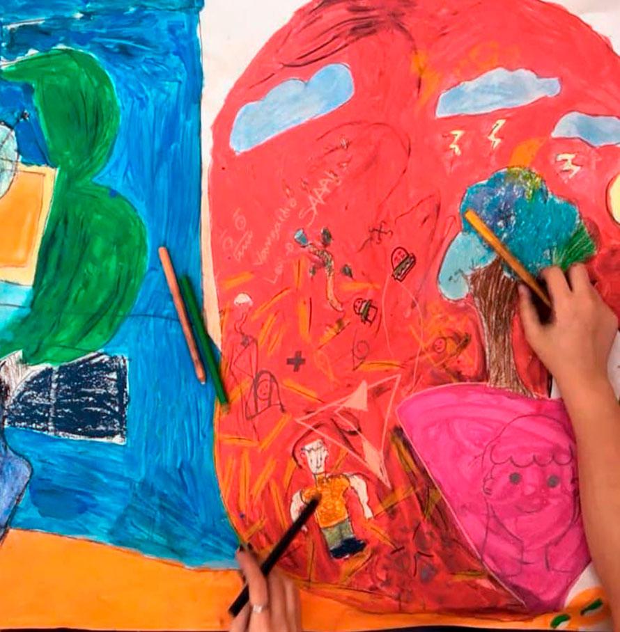Artes visuais para crianças