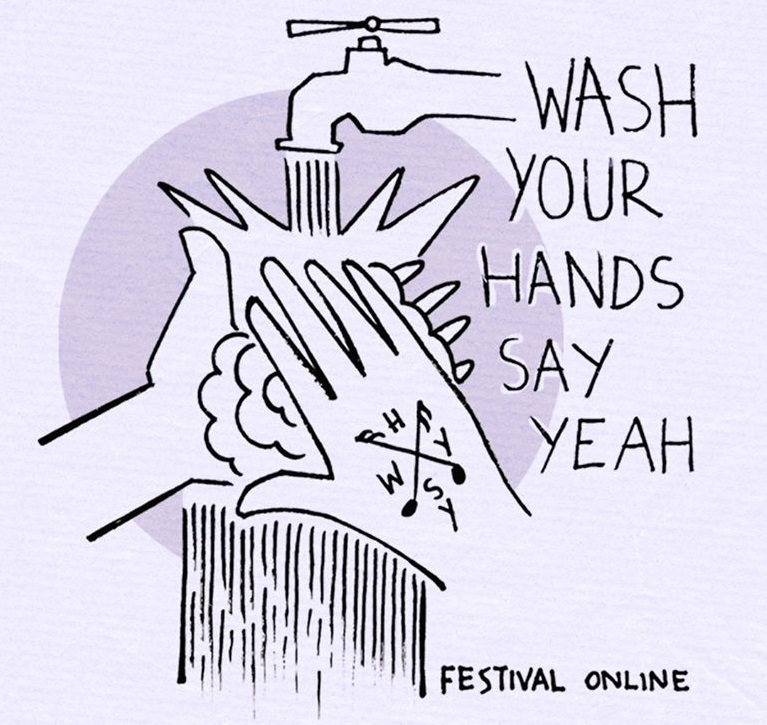 Wash your hands say yeah