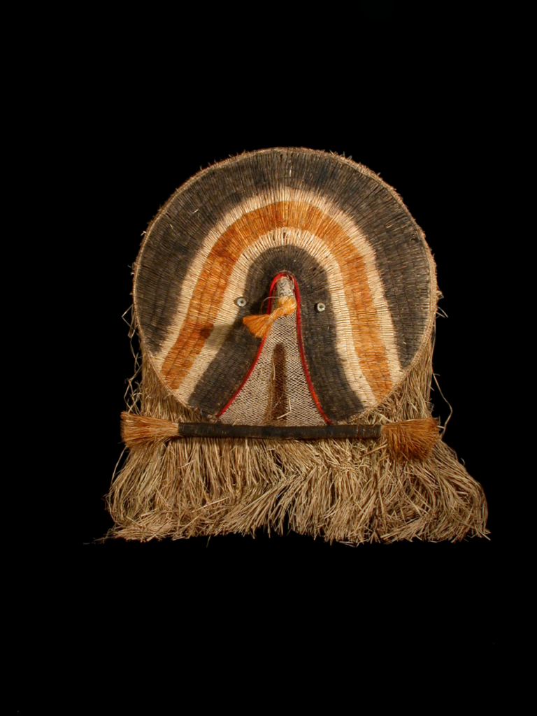 Máscara Atujuwá Ajou Nau (Museu Nacional de Etnologia)
