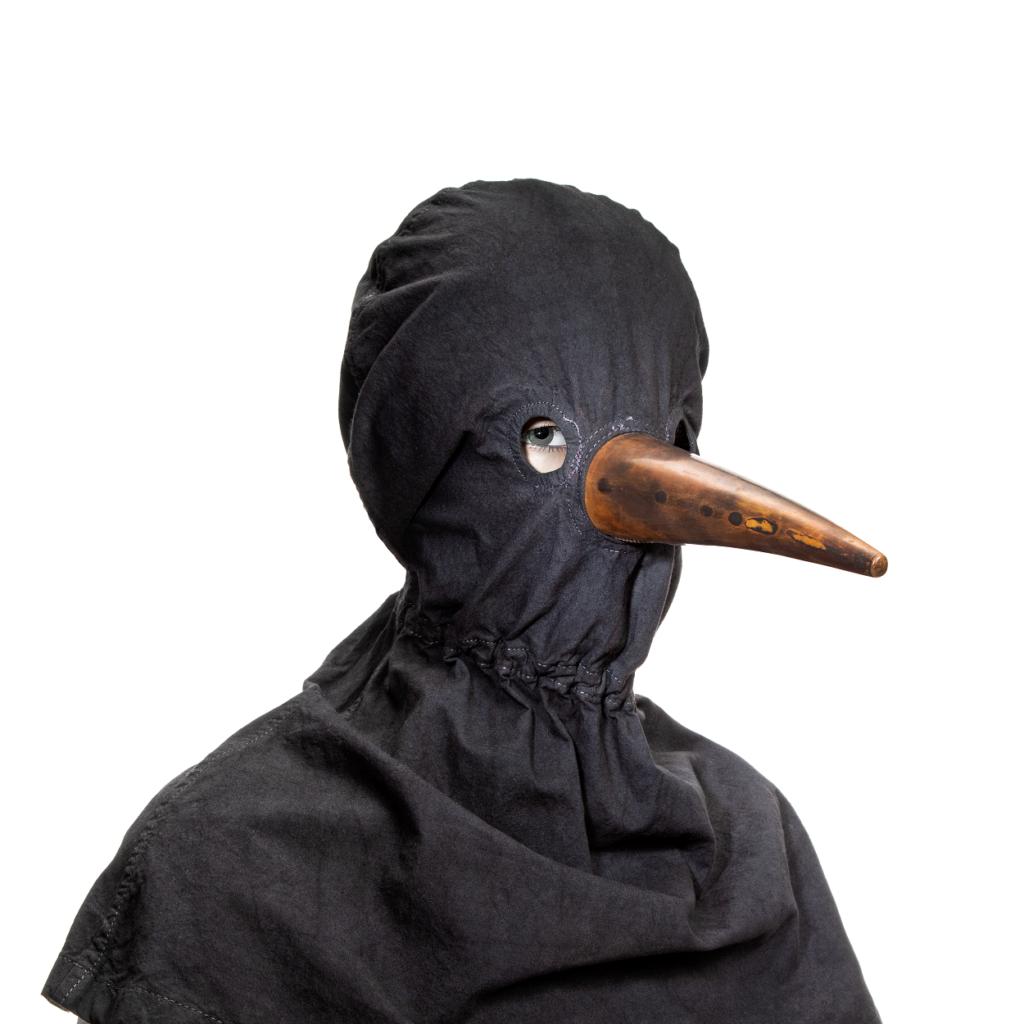 Máscara da Peste Negra (Museu da Farmácia)