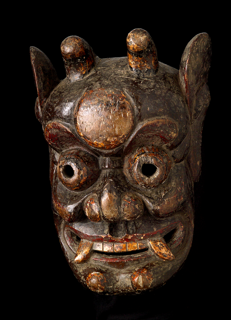 Máscara de Kaishan (Museu do Oriente)