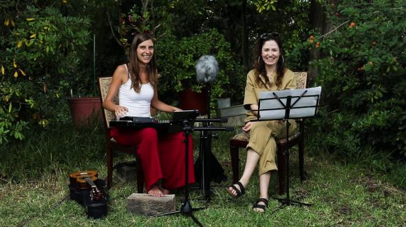 No Jardim com Sara Carinhas