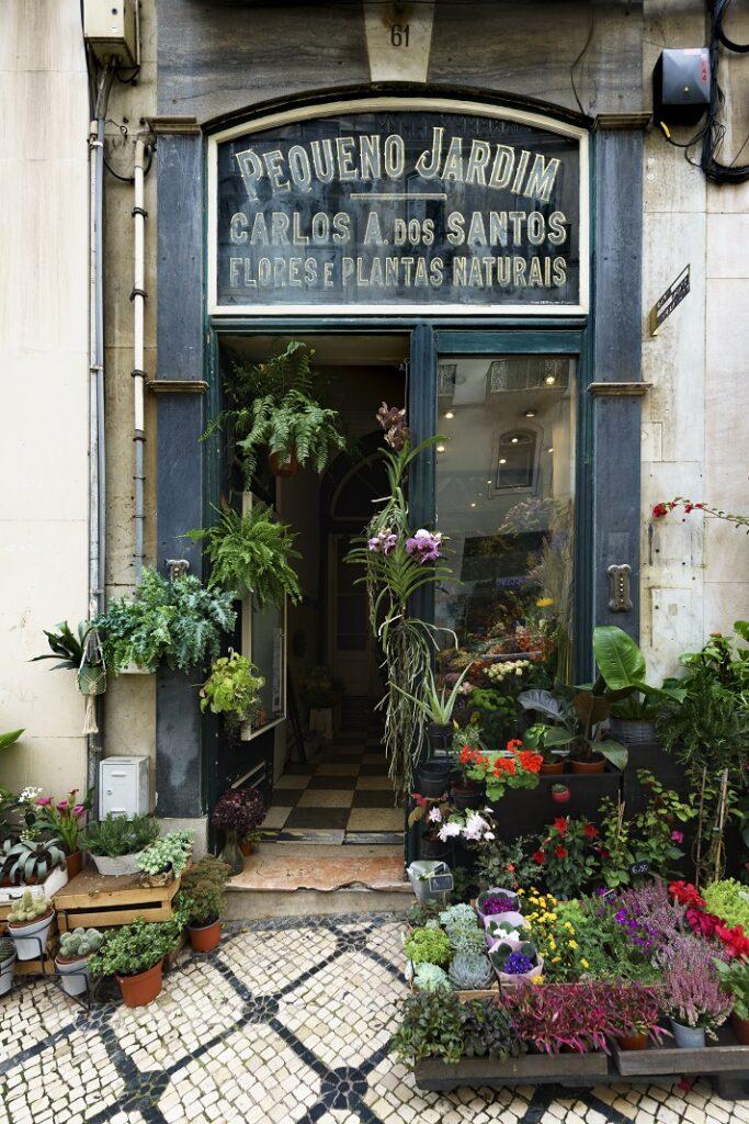 Florista Pequeno Jardim