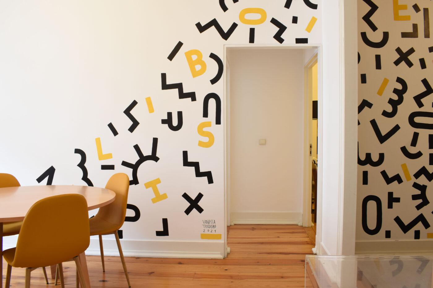 Artistas visuais intervencionam apartamentos