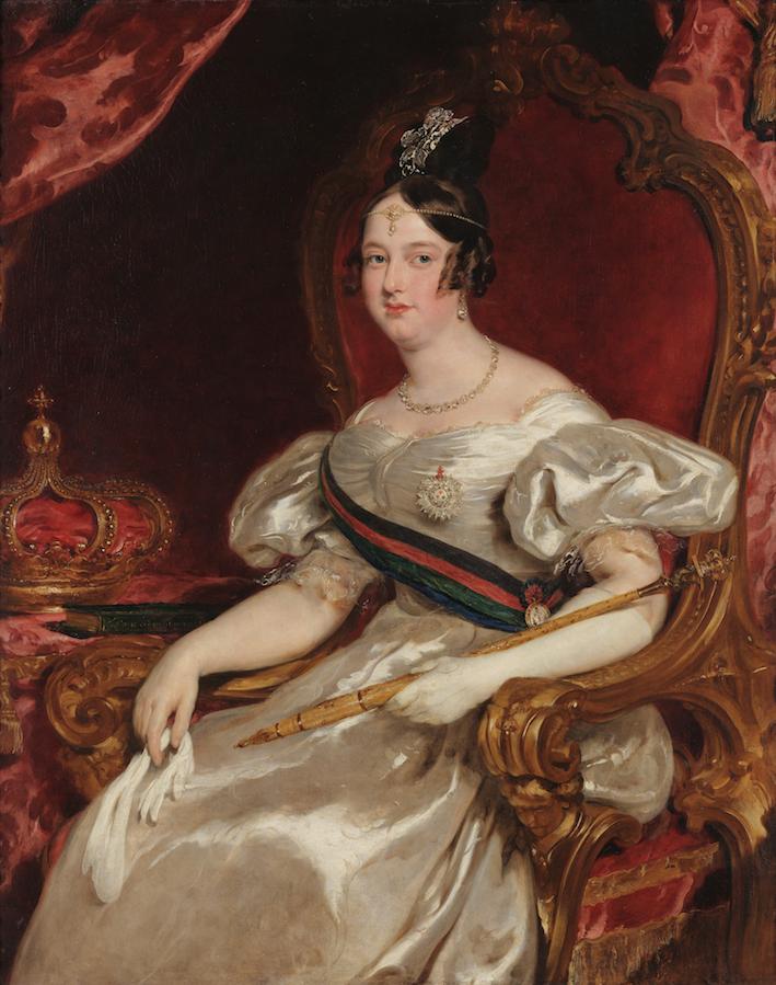 D. Maria II. De Princesa Brasileira a Rainha de Portugal. 1819-1853