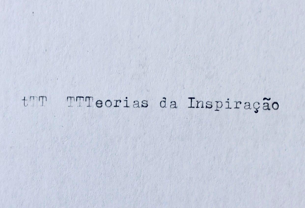 Teorias da Inspiração – Filme
