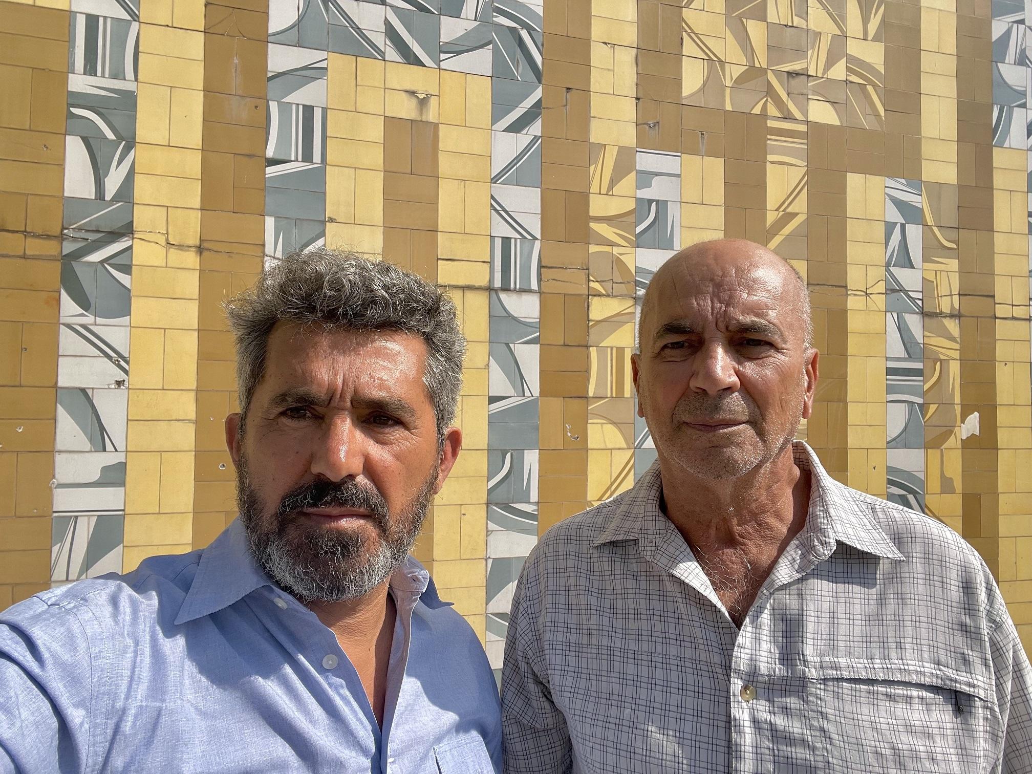 Jorge Lima Alves e José Vieira Mendes